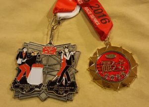 New Year's Double Race Medals